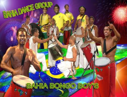Bongo Boys - Bahia Dance Group - Samba2000 Brasilien